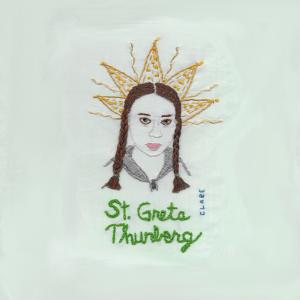 Saint Greta Thunberg